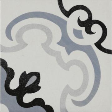 Sub 1742 keramische patchwork tegel 22,3x22,3 cm, monet