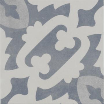 Sub 1742 keramische patchwork tegel 22,3x22,3 cm, rodin