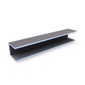 Wedi Mensolo u tegel element 2600 x 300 x 150 mm.
