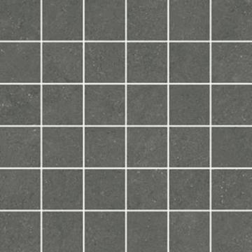 Sub 1738 tegelmat 30x30 cm, 5x5 cm, blok, antraciet