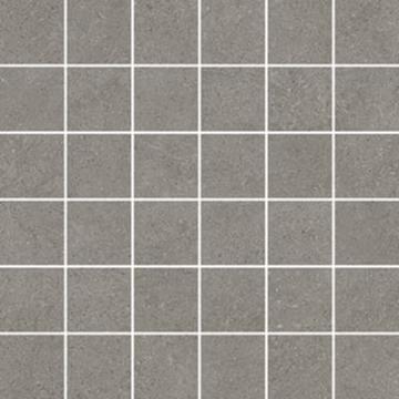 Sub 1738 tegelmat 30x30 cm, 5x5 cm, blok, grijs