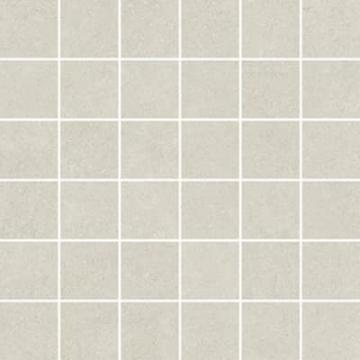 Sub 1738 tegelmat 30x30 cm, 5x5 cm, blok, wit