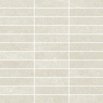 Sub 1739 tegelmat 30x30 cm, 2,5x10 cm, blok, vanilla