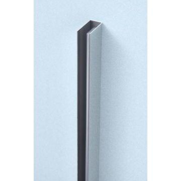 Sub 066 wandprofiel 200 cm, chroom hoogglans