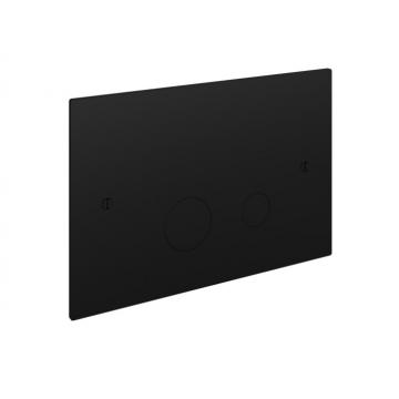 Hotbath Cobber bedieningspaneel geschikt voor Geberit UP320 17 x 25 x 0,4 cm, mat zwart