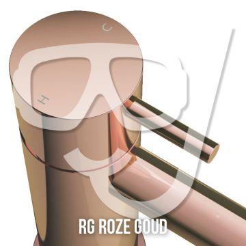 Hotbath Cobber afbouwdeel voor inbouwthermostaat geschikt voor bad/douche met uitloop HBCB7072, roze goud