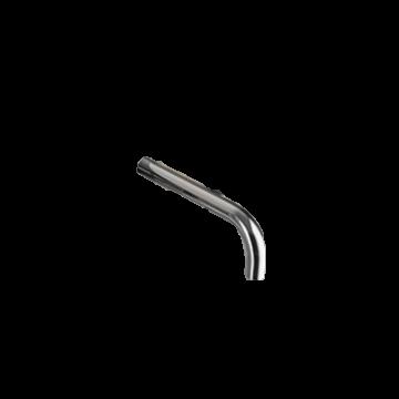 Hotbath Buddy J-uitloop 15 cm, chroom