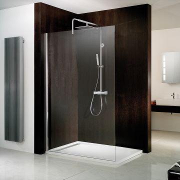 HSK Walk In Atelier inloopdouche Edelglas 120x200cm, chroom