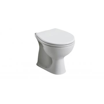 Geberit E-Con staand toilet voor duoblok 62,5 x 36 x 39 cm met AO, wit