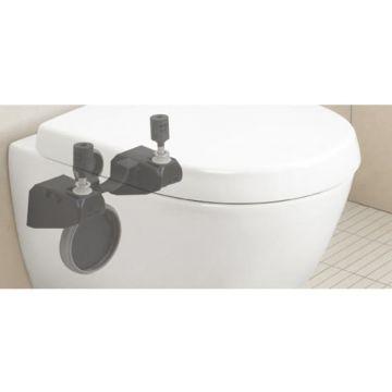 Villeroy & Boch SupraFix 3.0 montagesysteem voor compact toilet, zwart