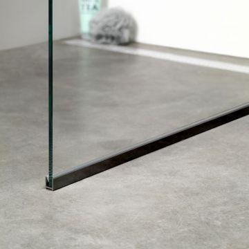Sealskin Get Wet I AM vloerprofiel 150 cm, matzwart
