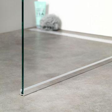 Sealskin Get Wet I AM vloerprofiel 150 cm, chroom