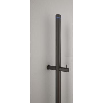 Instamat Jay elektrische badkamerradiatorstang 1720 mm 29 W, zwart RAL 9004