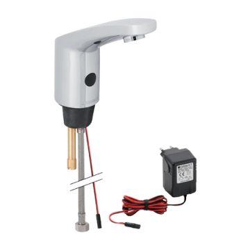 Geberit elektronische wastafelkraan type 185 infrarood, chroom