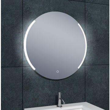 Wiesbaden Round spiegel met LED-verlichting met spiegelverwarming ø 80 cm