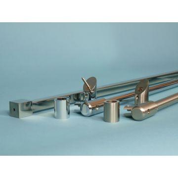 Van Rijn plafond-stabilisatiestang 100 cm, RVS