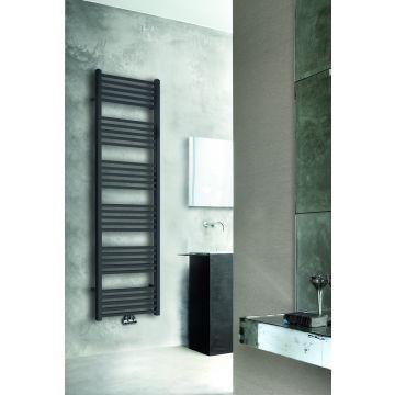 Wiesbaden Tower radiator 182 x 60 cm, mat-zwart
