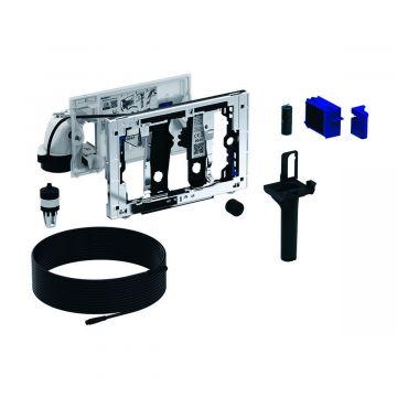 Geberit DuoFresh module met geurzuivering en toiletstickhouder, handmatige activering, geschikt voor Sigma 8 cm, chroom