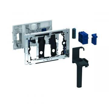 Geberit DuoFresh toiletstickhouder, zonder geurzuivering, geschikt voor Sigma 12 cm, chroom