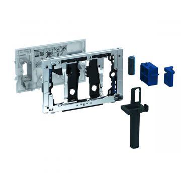 Geberit DuoFresh toiletstickhouder, zonder geurzuivering, geschikt voor Sigma 8 cm, antracietgrijs