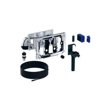 Geberit DuoFresh module met geurzuivering, toiletstickhouder en oriëntatielicht, automatische activering, geschikt voor Sigma 12 cm, chroom