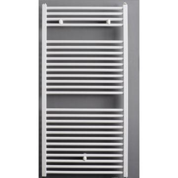 Sub handdoekradiator recht 1500 x 600 mm 791 W, wit