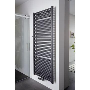 HSK Line Plus designradiator 600x1775 mm 1265 W, grafiet-zwart