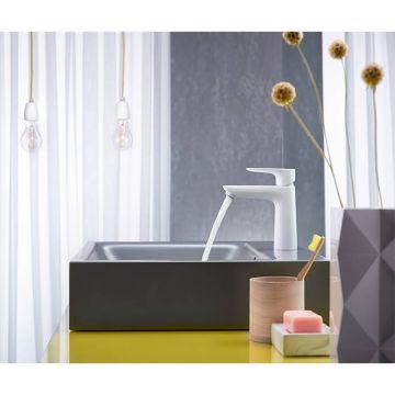 Hansgrohe Talis E wastafelmengkraan 110 coolstart met waste, polished gold optic