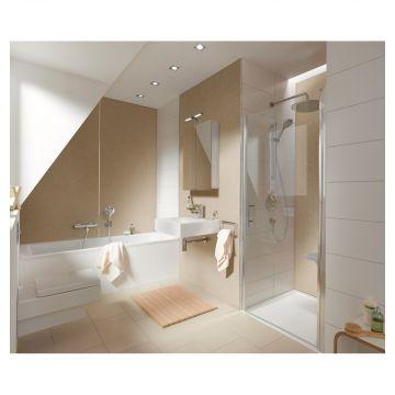 HSK RenoDeco designpaneel 150x255cm 3mm dik natuursteen, mediterraan-beige