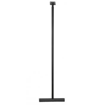 Sub luxe vloerwisser met ophangsysteem, mat zwart