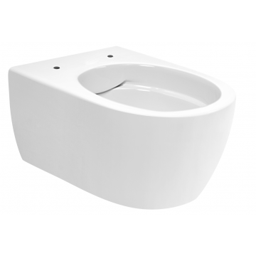 Sub 016 compact wand toilet spoelrandloos zerokal 48x36 cm, wit