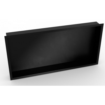 Sub Serie 160 inbouwnis 30 x 60 x 7 cm, zwart