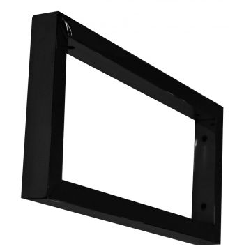 Wiesbaden Modul support beugel 46 x 22 cm voor wastafel, mat zwart