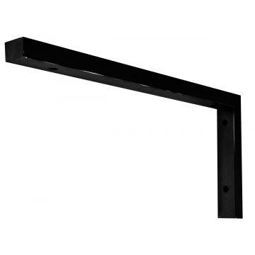 Wiesbaden Modul ondersteuningsbeugel 46 x 22 cm L-vorm, mat zwart