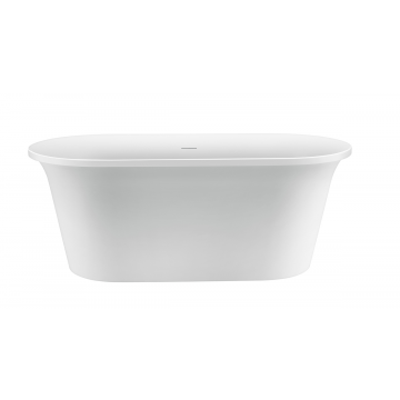 Sub 201 vrijstaand bad 170x78, mat wit