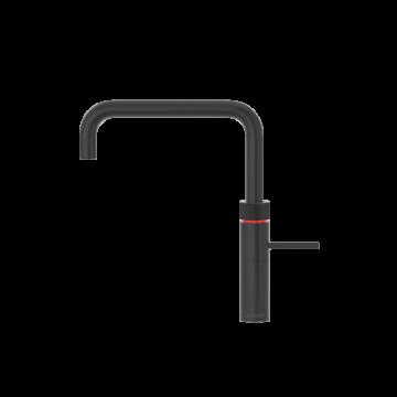 Quooker keukenmengkraan Fusion Square voorsprong uitloop 220 mm, zwart