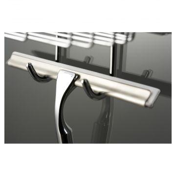HSK Comfort glaswisser 25 cm, incl. wandhouder, verpakking 5 stuks