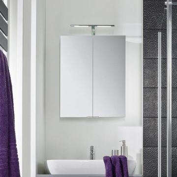 HSK ASP 300 LED spiegelkast 60x75 cm, aluminium