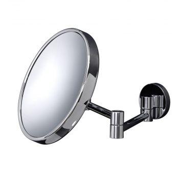 HSK make-up spiegel rond wandmodel, onverlicht, chroom