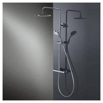 HSK Shower-Set RS 200 thermostaat, chroom