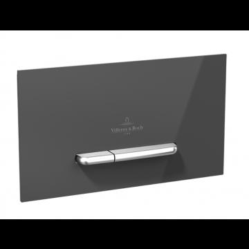 Villeroy & Boch ViConnect M300 bedieningspaneel tweeknops 25,3 x 14,5 cm, grijs