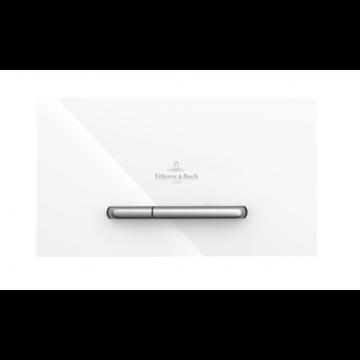 Villeroy & Boch ViConnect M300 bedieningspaneel tweeknops 25,3 x 14,5 cm, wit