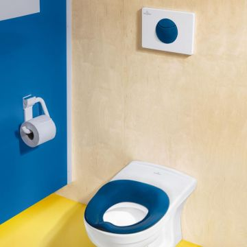 Villeroy & Boch O.novo Kids bedieningsplaat E100 kunststof DF 20,5x14,5cm, ocean blue