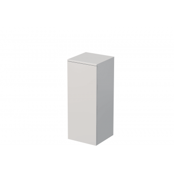Sub Vito kast halfhoog 35x35x86,8cm rechts hoogglans wit, hoogglans wit