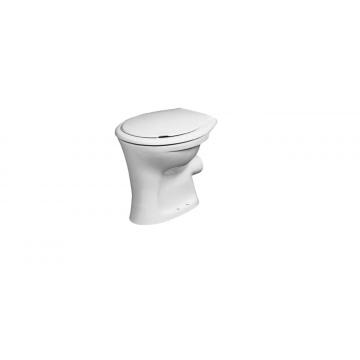 Sub 160 staand vlakspoel toilet 46,5 x 36 x 39,5 cm, wit