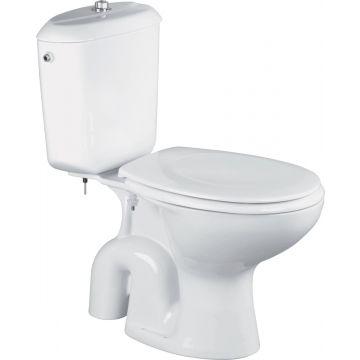 Sub 160 staand duoblok toilet 39 x 35 x 65 cm, wit