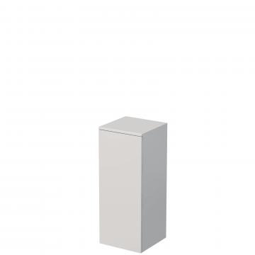 Sub Vito kast halfhoog 35x35x86,8cm links hoogglans wit, hoogglans wit