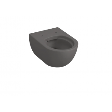 Sub 010 hangend toilet spoelrandloos 35 x 35,5 x 54 cm, antraciet