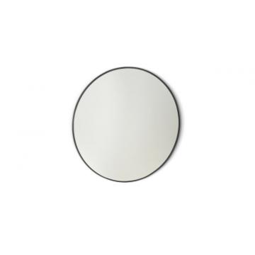 Sub 16 ronde spiegel 40 cm, mat zwart
