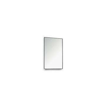 Sub 16 spiegel 30 x 80 cm, mat zwart
